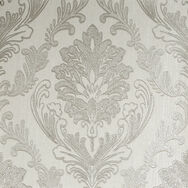 Corsetto Damask Ivory Wallpaper, , wallpaperIT