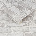Fresco White Brick Wallpaper