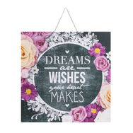 Chalkboard Dreams & Wishes Printed Canvas Wall Art , , wallpaperIT