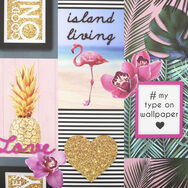 Island Living Wallpaper, , wallpaperIT
