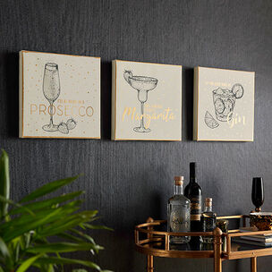 Drinks Collection Wall Art, , wallpaperIT