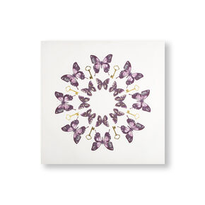 Blissful Butterflies Printed Canvas Wall Art, , wallpaperIT