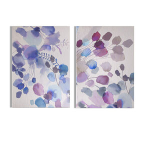 Expressive Blooms Printed Canvas Wall Art, , wallpaperIT
