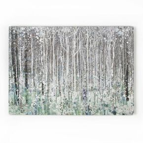 Watercolour Woods Printed Canvas Wall Art, , wallpaperIT
