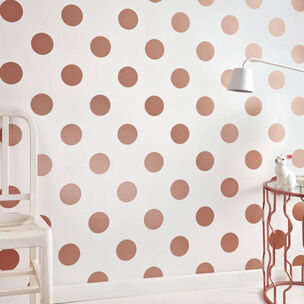 Dotty Rose Gold Wallpaper, , wallpaperIT