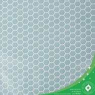 Hexagon Lattice Duck Egg Wallpaper, , wallpaperIT