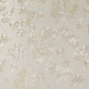Floral Silk Cream Shimmer Wallpaper, , wallpaperIT