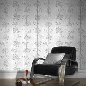 Domaniale White & Grey Wallpaper, , wallpaperIT
