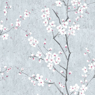Pale Blue Sakura Wallpaper, , wallpaperIT