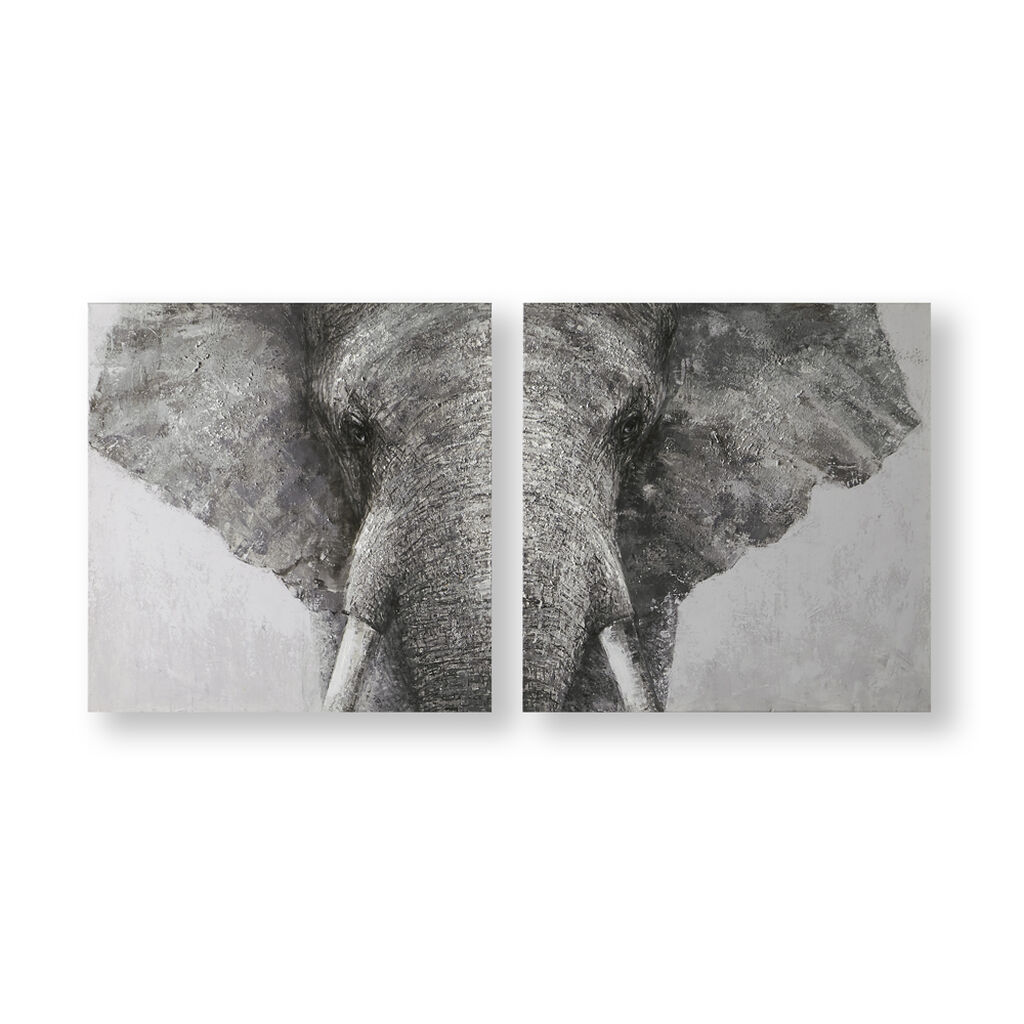 Majestic Elephant Canvas, , wallpaperIT