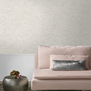Confetti Silver & Pale Gold Wallpaper, , wallpaperIT