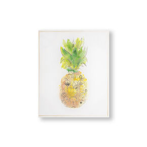 Pineapple Tropics Printed Canvas Wall Art, , wallpaperIT