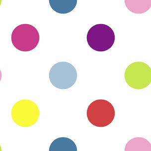 Dotty Multi Bright Wallpaper, , wallpaperIT