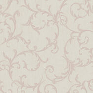 Empress Scroll Rose Gold Wallpaper, , wallpaperIT