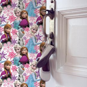 Frozen Anna, Elsa and Olaf Pink Shimmer Wallpaper, , wallpaperIT