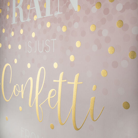 Confetti Typography Wall Art, , wallpaperIT