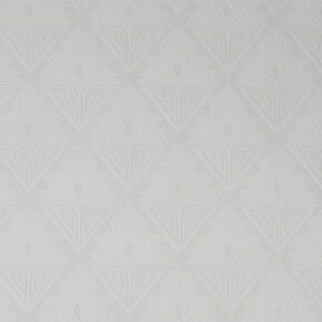 Art Deco Geo White Wallpaper, , wallpaperIT
