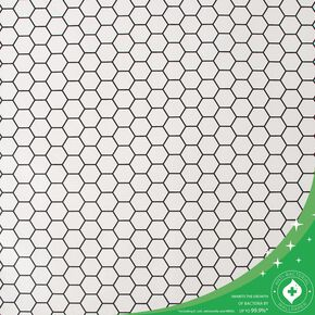 Hexagon Lattice White Wallpaper, , wallpaperIT