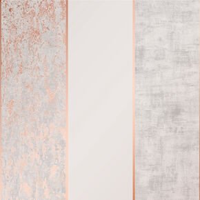 Milan Stripe Rose Gold Wallpaper, , wallpaperIT