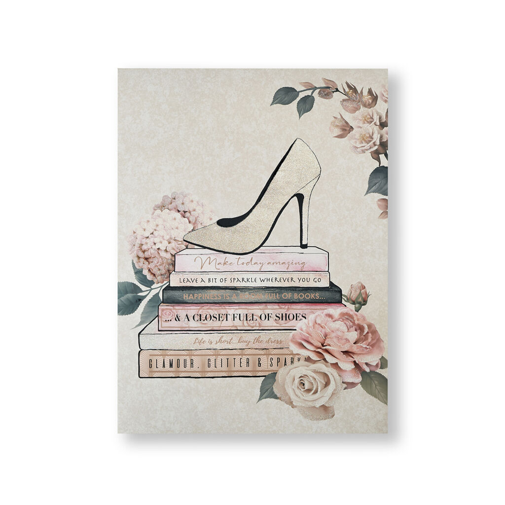 Fashion & Flowers Canvas Wall Art, , wallpaperIT