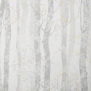 Dappled Trees Ochre Wallpaper, , wallpaperIT