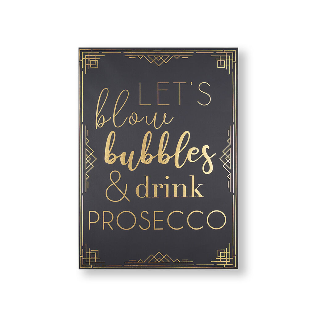 Prosecco Time Wall Art, , wallpaperIT