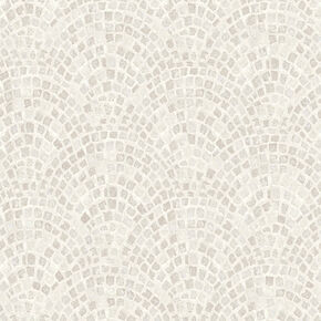 Trajan Tile Natural Wallpaper, , wallpaperIT