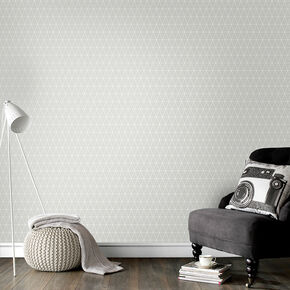 Triangolin Grey Wallpaper, , wallpaperIT