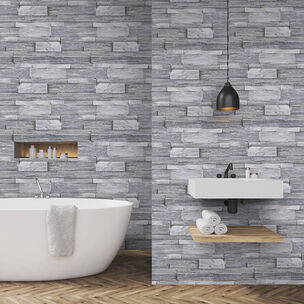 Stone Wall Grey Wallpaper, , wallpaperIT