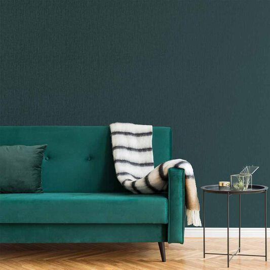 Marquise Plain Emerald Wallpaper, , wallpaperIT
