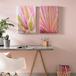 Blushed Tropics Printed Canvas Wall Art, , wallpaperIT
