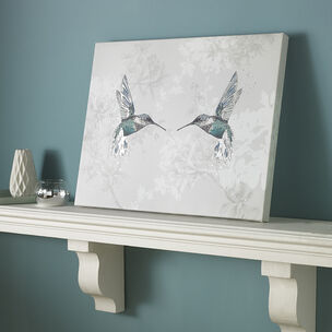 Hummingbirds Printed Canvas Wall Art, , wallpaperIT