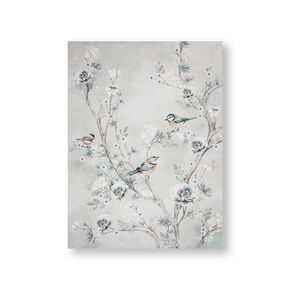 Beautiful Birds Printed Canvas Wall Art, , wallpaperIT