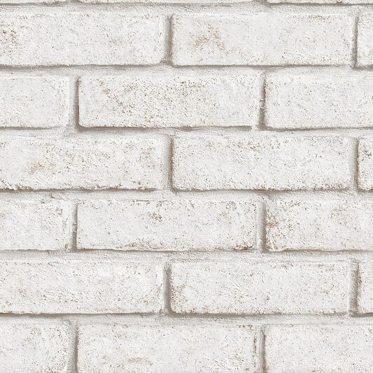 Brick White & Red Wallpaper, , wallpaperIT
