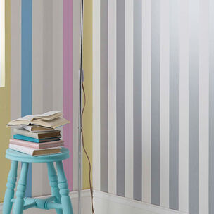 Silver Stripe Wallpaper, , wallpaperIT
