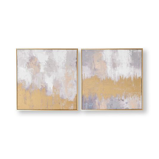 Laguna Mist Framed Canvas Wall Art, , wallpaperIT