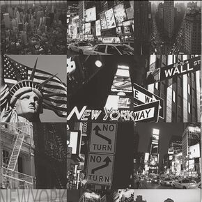 New York Black and White Wallpaper, , wallpaperIT