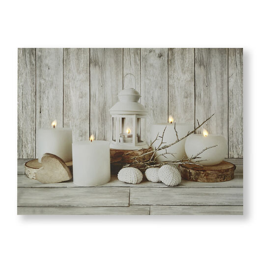 Coastal Treasures Led Canvas Wall Art, , wallpaperIT