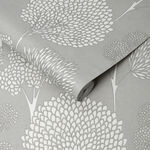 Whimsical Grey Wallpaper