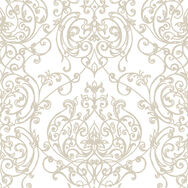 Empress Damask Gold Wallpaper, , wallpaperIT