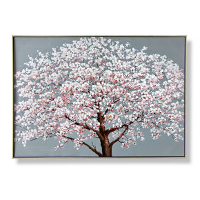 Cherry Blossoms Framed Canvas, , wallpaperIT