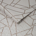 Theia Geo Blush Wallpaper