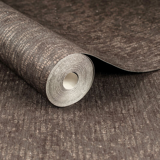 Cashmere Chocolate and Copper Wallpaper, , wallpaperIT