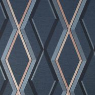 Prestige Geo Navy Wallpaper, , wallpaperIT