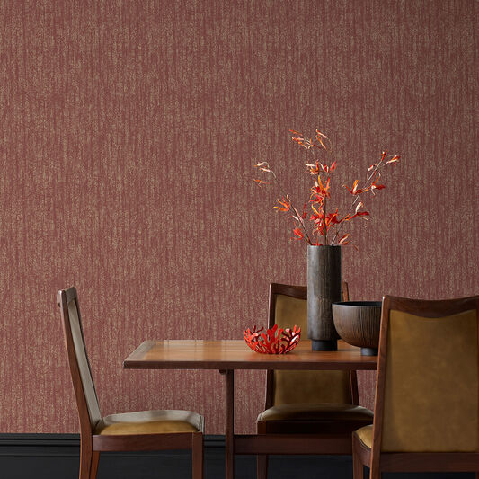 Devore Burgundy Wallpaper, , wallpaperIT