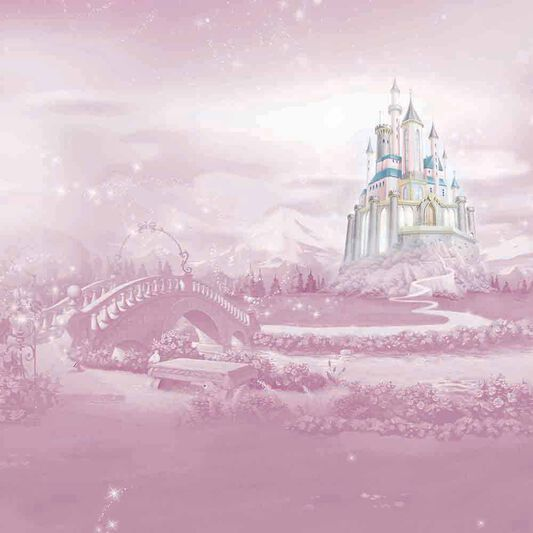 Princess Castle Mural, , wallpaperIT