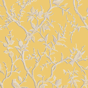 Laos Trail Yellow & Gold Wallpaper, , wallpaperIT