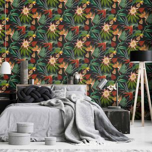 Parrot Black Wallpaper, , wallpaperIT