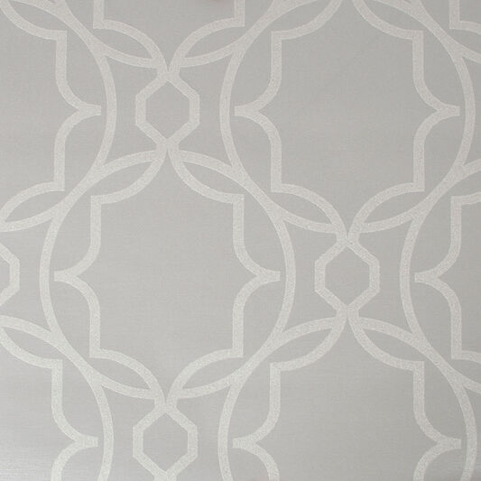 Montague Geo Silver Wallpaper, , wallpaperIT