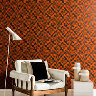 Twist Chocolate and Orange Wallpaper, , wallpaperIT